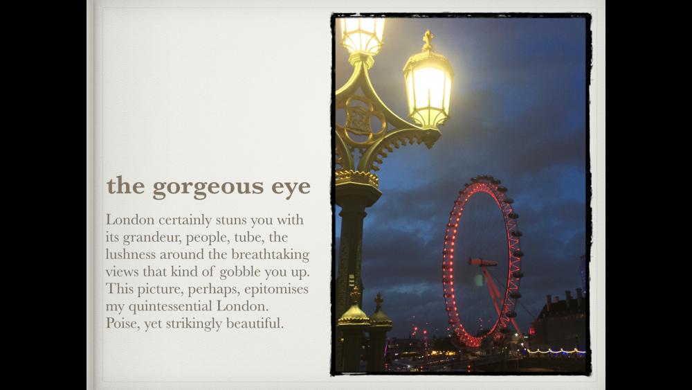 London Diaries (1/6)