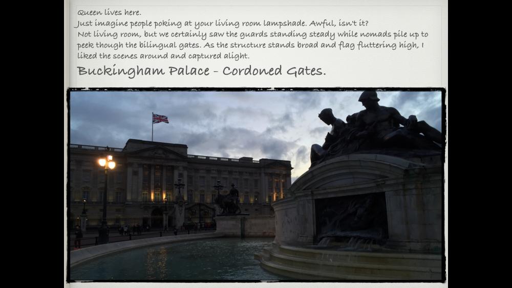 London Diaries (6/6)